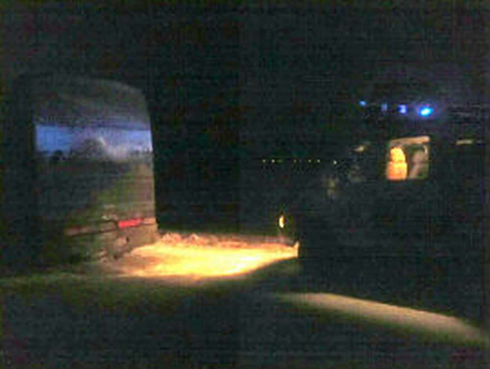 Автобус, движущийся изМинусинска вТомск, столкнулся сфурой