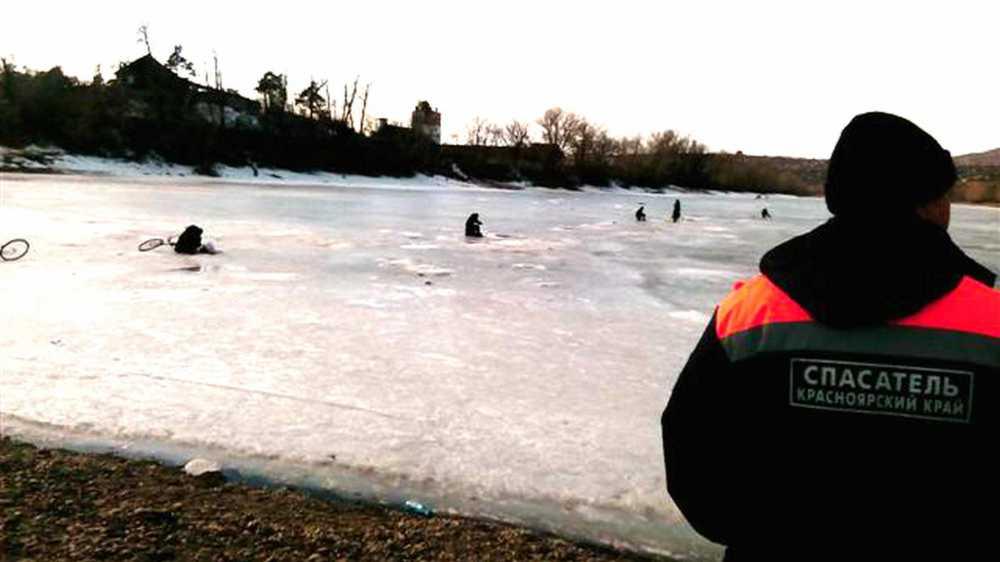 Под лед Енисея провалилась женщина идвое детей