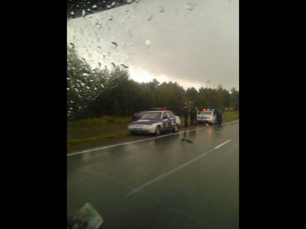 Депутат Заксобрания края попал ваварию под Минусинском